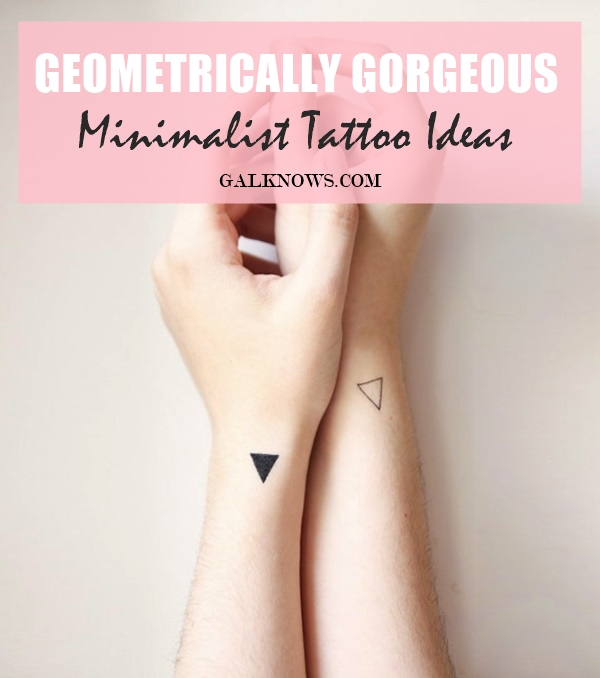 87edbbb9eb9e3 101 Geometrically Gorgeous Minimalist Tattoo Ideas