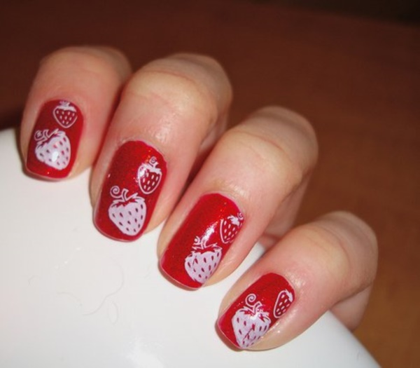 Red Nail Art Designs (1)