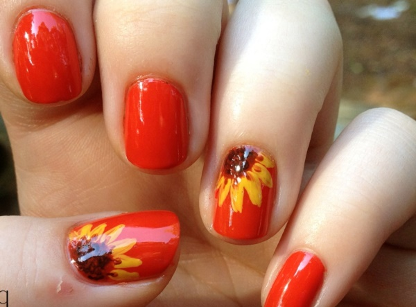 Red Nail Art Designs (21)