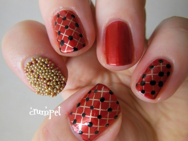Red Nail Art Designs (22)