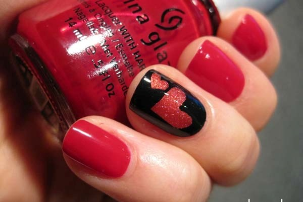 Red Nail Art Designs (23)