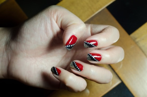 Red Nail Art Designs (25)