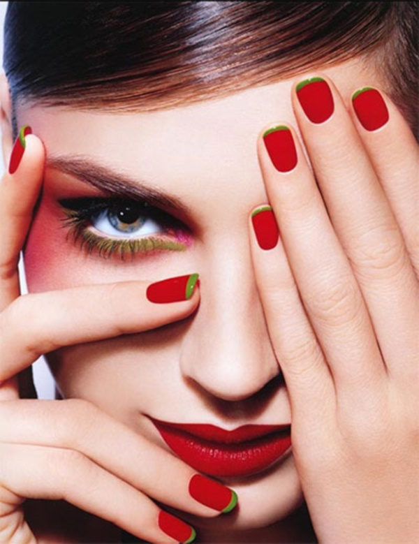 Red Nail Art Designs (26)