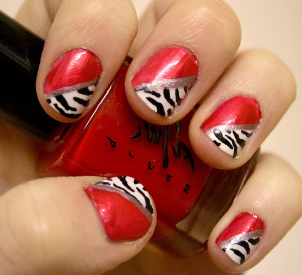 Red Nail Art Designs (27)