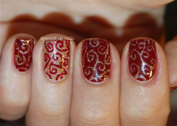 Red Nail Art Designs (30)