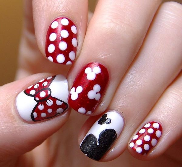 Red Nail Art Designs (33)