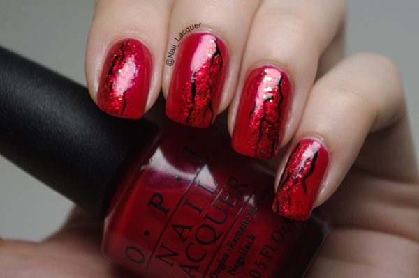 Red Nail Art Designs (34)