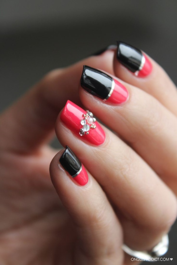 Red Nail Art Designs (35)