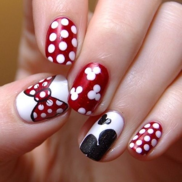 Red Nail Art Designs (37) - 101 Splendid Red Nail Art Designs To Say