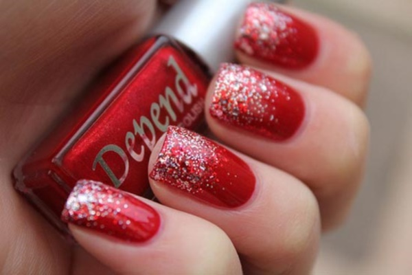 Red Nail Art Designs (40)
