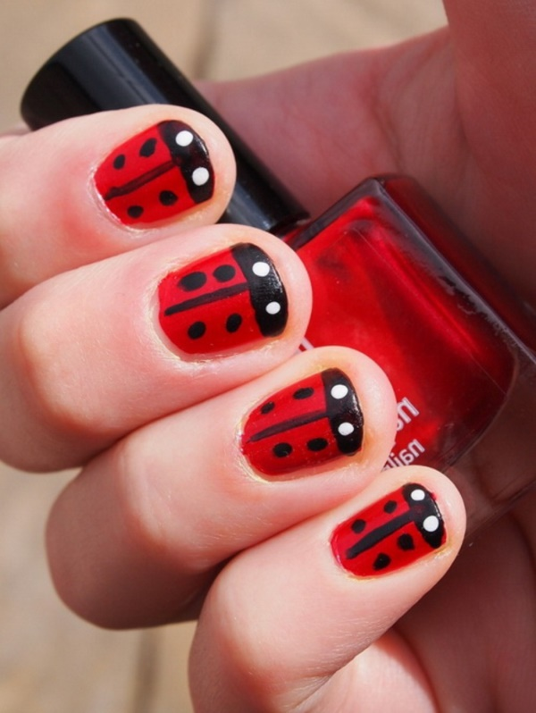101 splendid red nail art designs to say im hot olympus digital camera prinsesfo Images