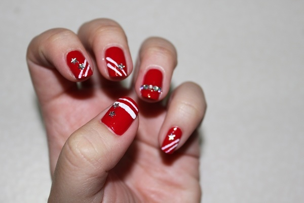 Red Nail Art Designs (46)