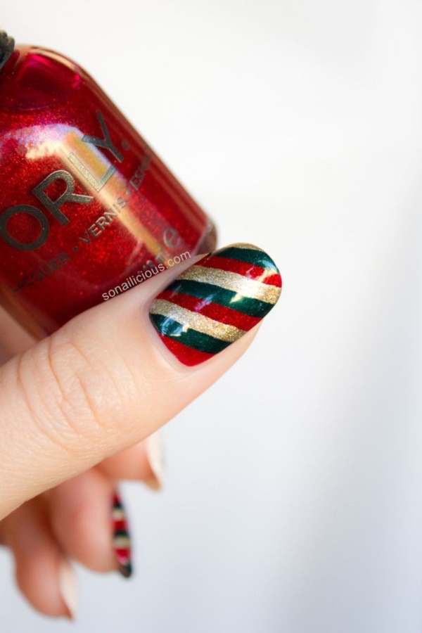 Red Nail Art Designs (47)