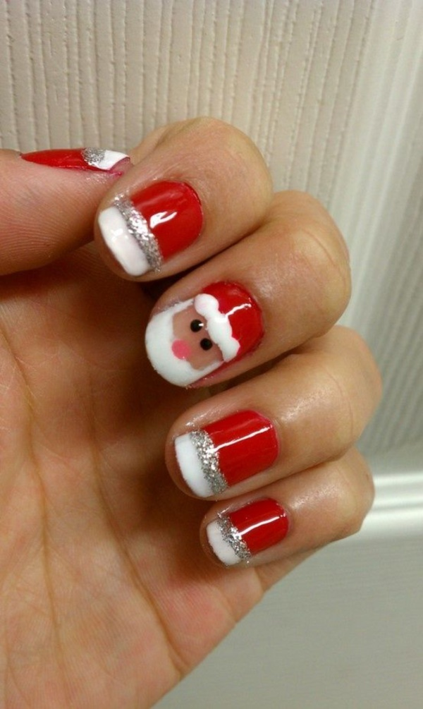Red Nail Art Designs (5)