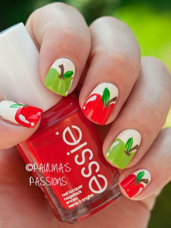 Red Nail Art Designs (55)