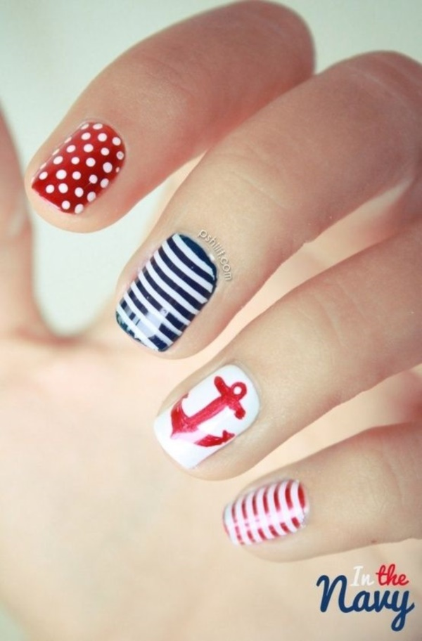 Red Nail Art Designs (59)