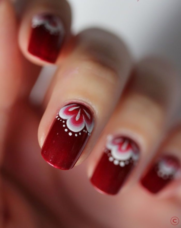 Red Nail Art Designs (60)