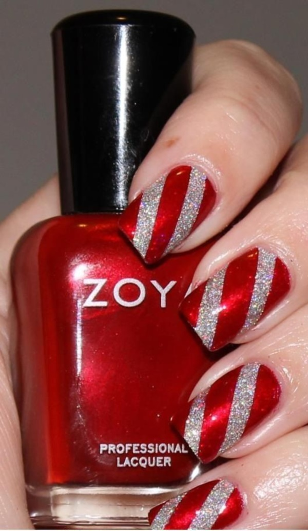 Red Nail Art Designs (61)