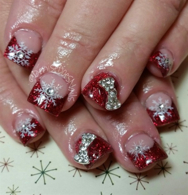 Red Nail Art Designs (7)