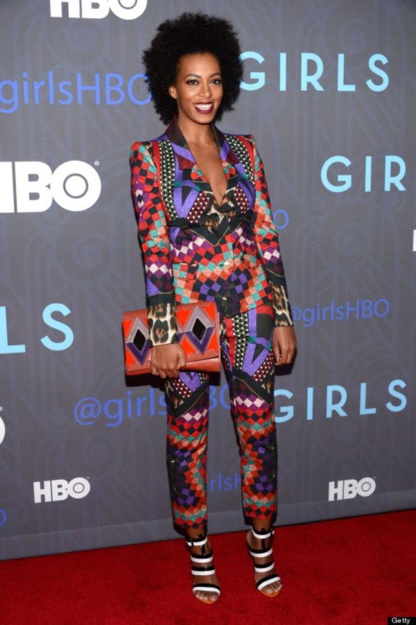 "attends the HBO premiere of ""Girls"" Season 2 at the NYU Skirball Center on January 9, 2013 in New York City."