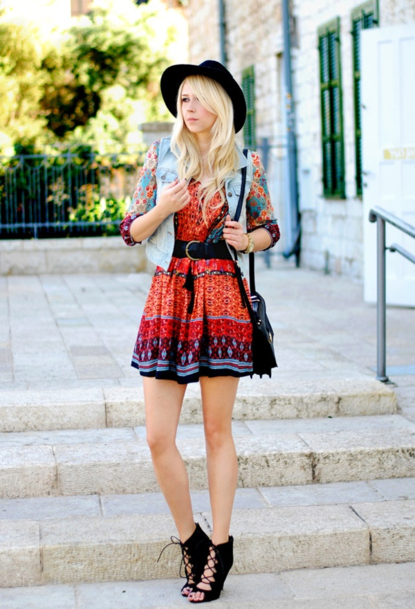 42f4a87c79b 101 Boho Chic Fashion Outfits to feel the Hipster Look