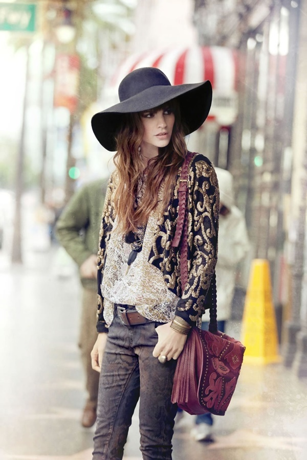 Boho Winter Fashion Pinterest