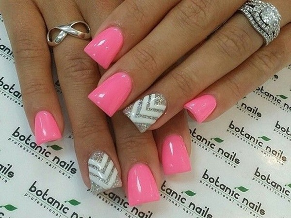 pink and white nail art (24)