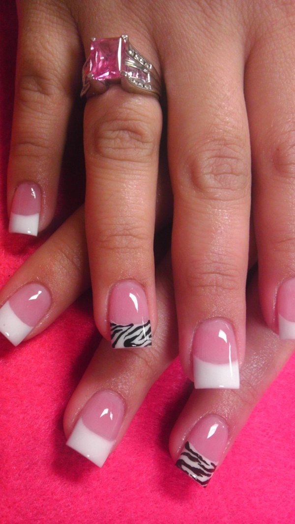 pink and white nail art (43)
