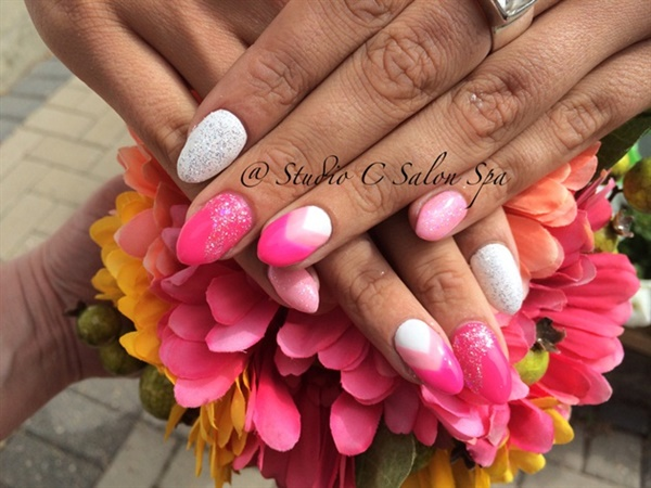pink and white nail art (47)