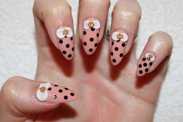 pink and white nail art (48)