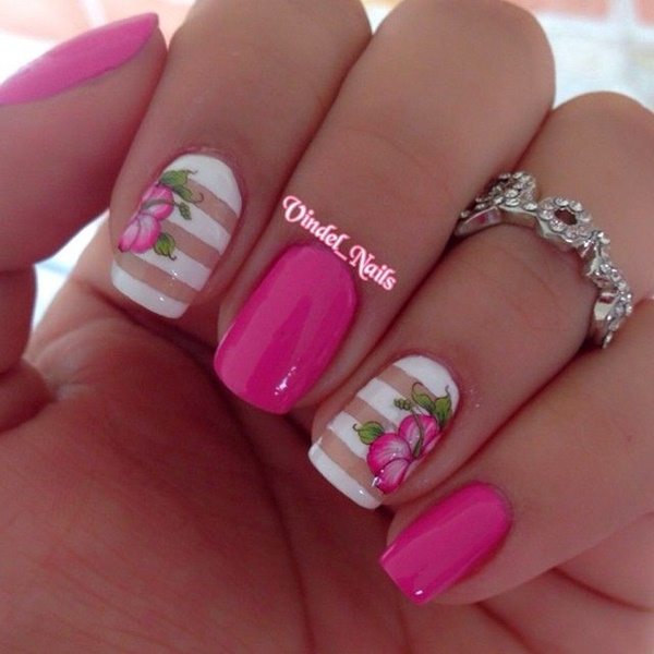 pink and white nail art (6)