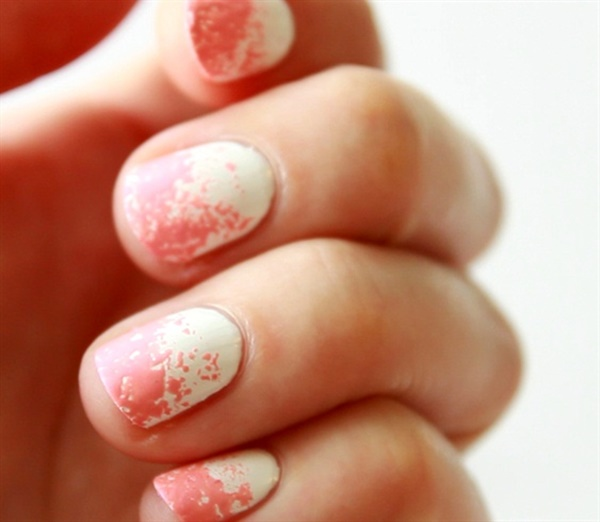 pink and white nail art (71)