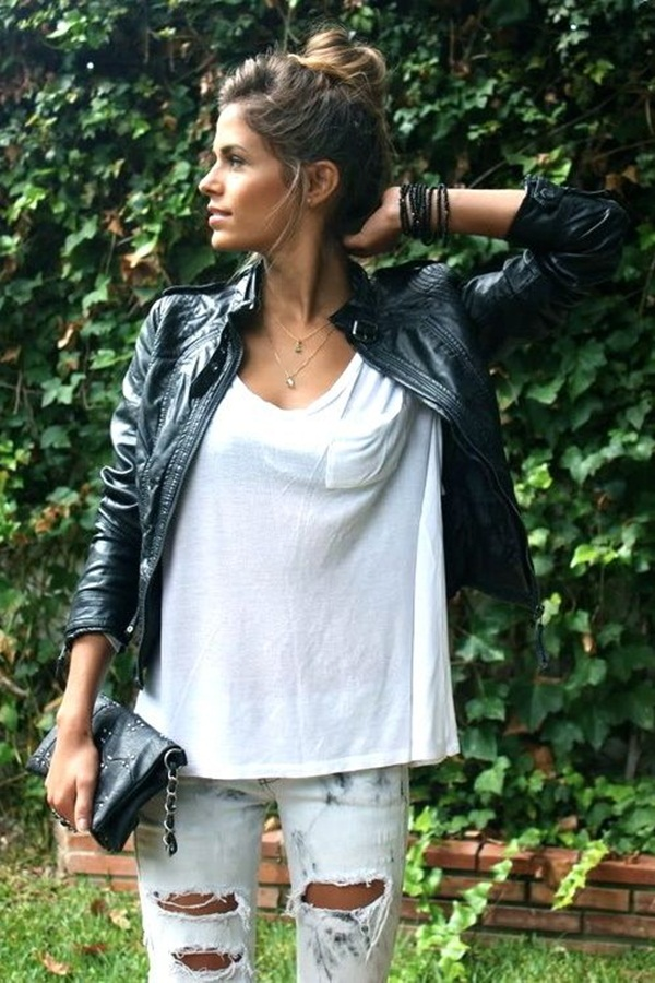 Ideas to wear Jacket Outfits (9)