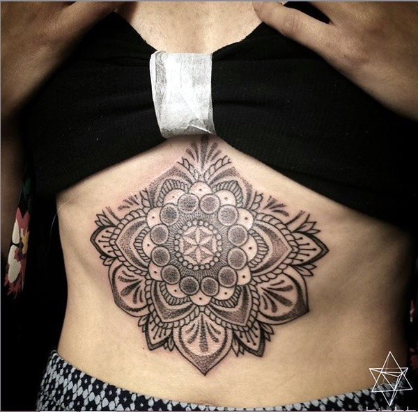 Underboob Tattoos Designs for Women (71)