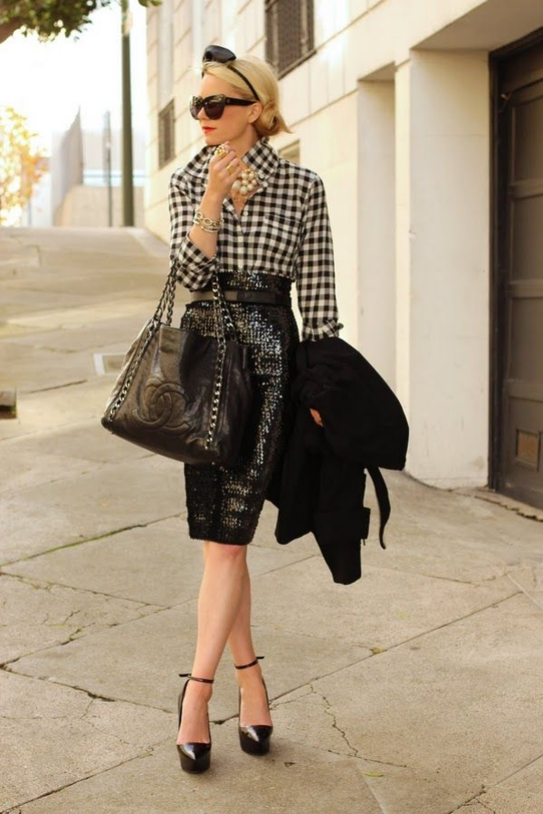 Flattering Skirt Outfits Ideas 11