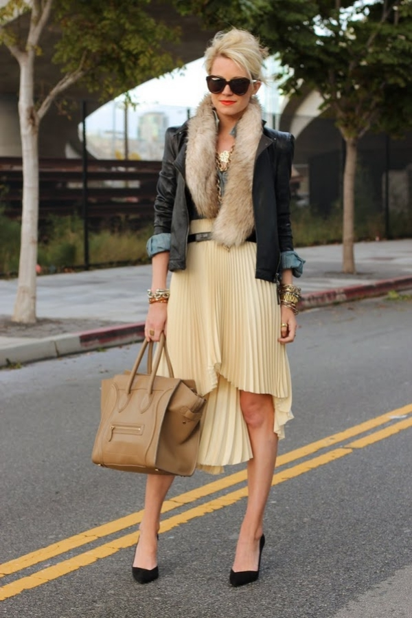 Flattering Skirt Outfits Ideas 13