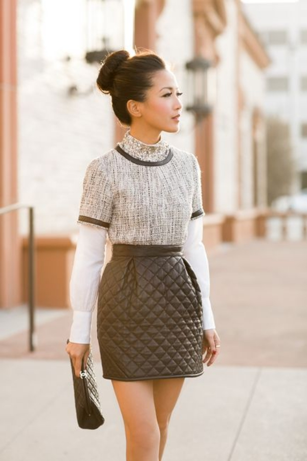 Flattering Skirt Outfits Ideas 15