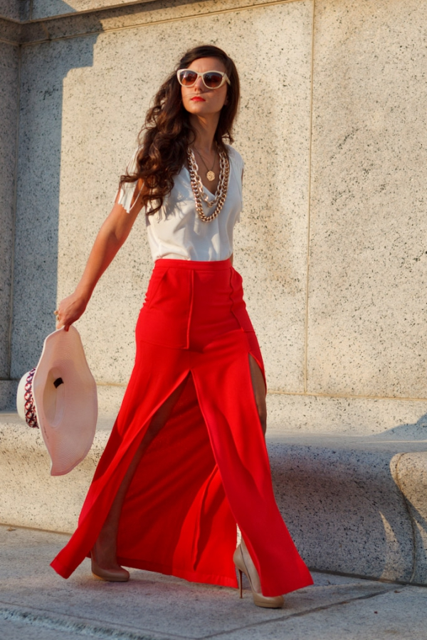 Flattering Skirt Outfits Ideas 26.