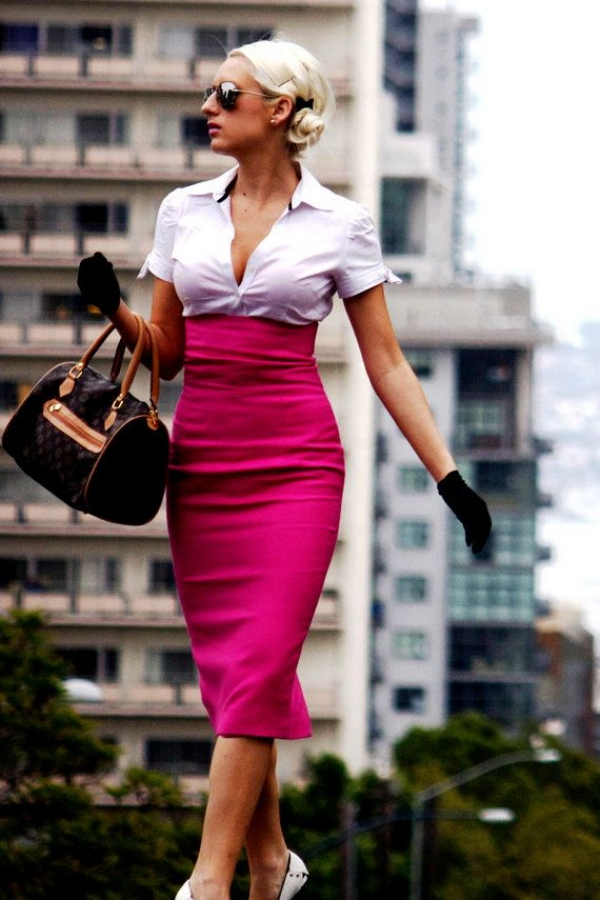 Flattering Skirt Outfits Ideas 35 Pencil-Skirts
