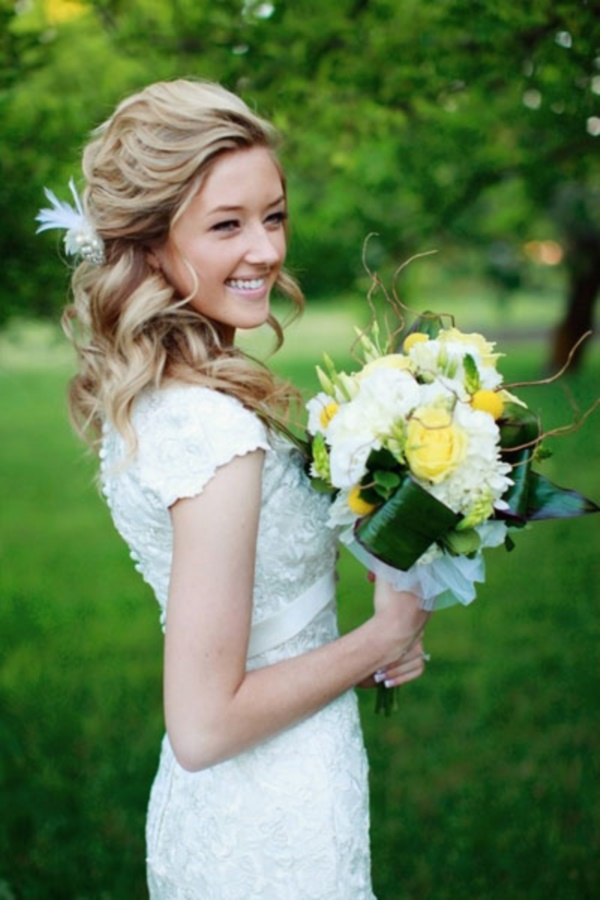 Long and Short Wedding Hairstyles311