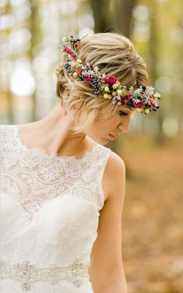 Long and Short Weddings Hairstyles101