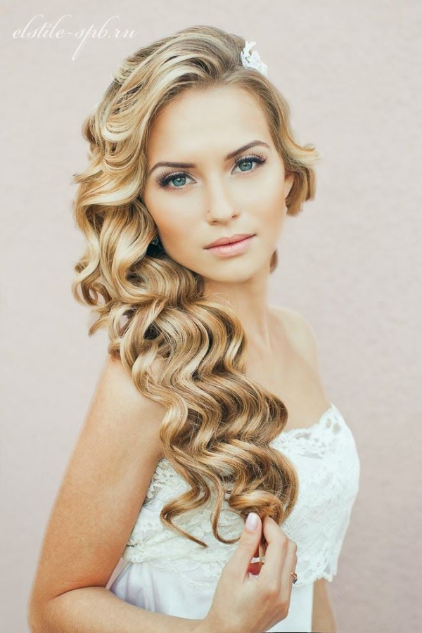 Long and Short Weddings Hairstyles27