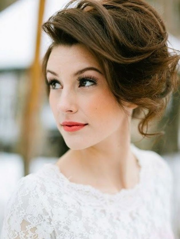 Long and Short Weddings Hairstyles40-Bridal Bobs