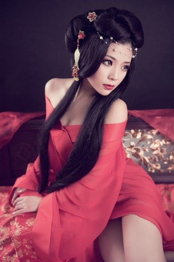 Long and Short Weddings Hairstyles87-Chinese bridal hairstyle