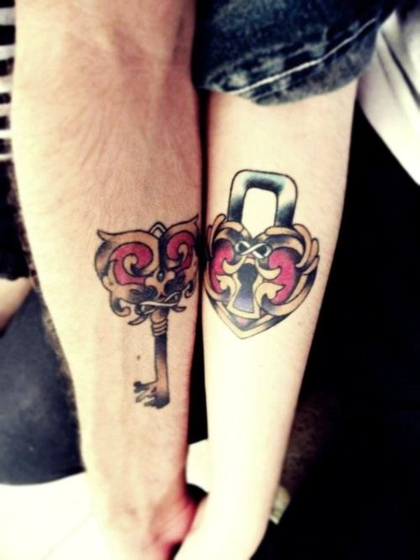 Matching Couple Tattoo Ideas0021