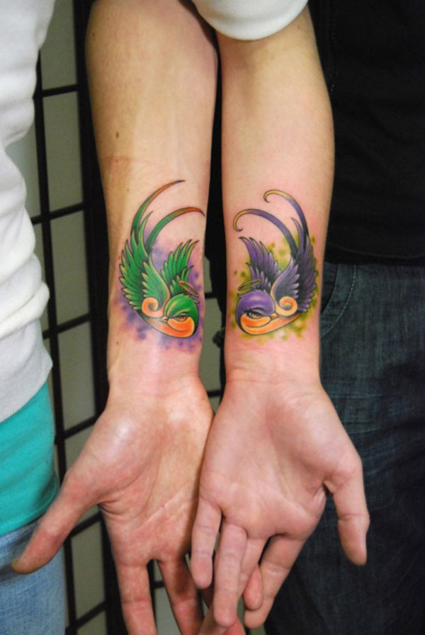 Matching Couple Tattoo Ideas051