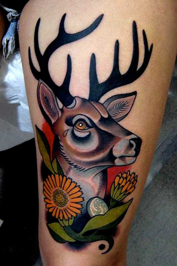 Image of: Wolf Nature Tattoos Designs And Ideas001 Gal Knows 101 Perfectly Raw Nature Tattoos Designs And Ideas