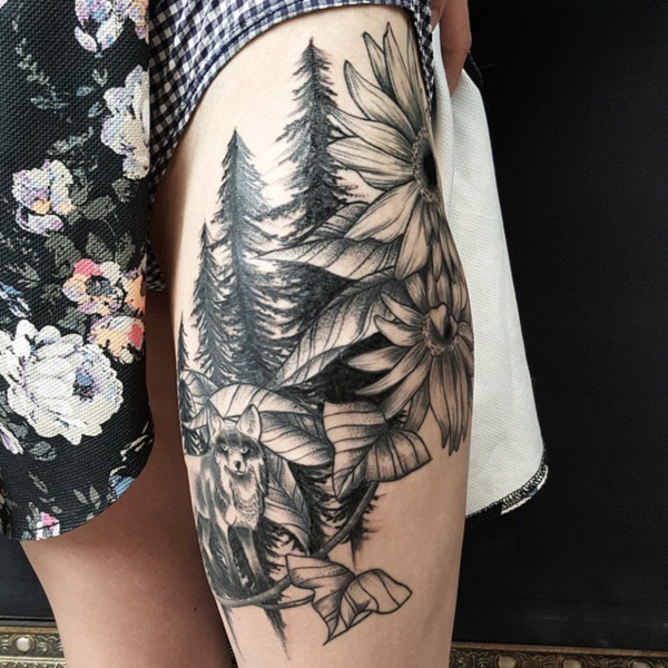 Nature Tattoos Designs and Ideas041
