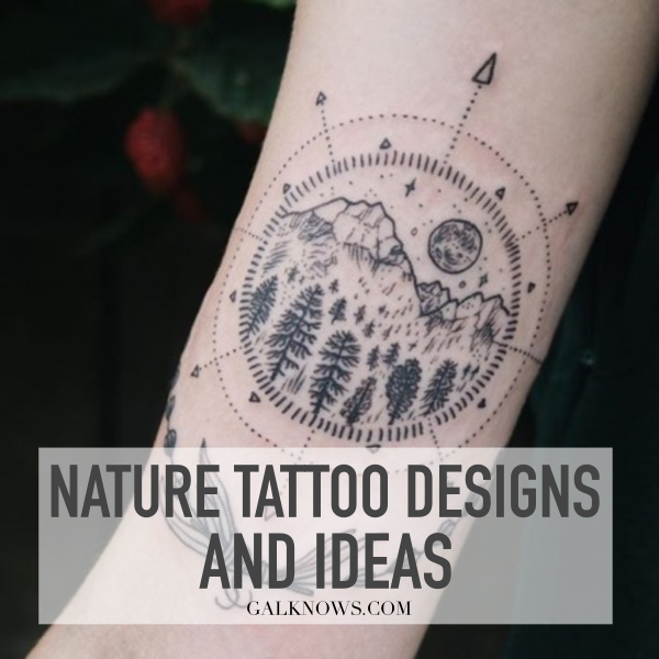 Nature Tattoos Designs and Ideas061