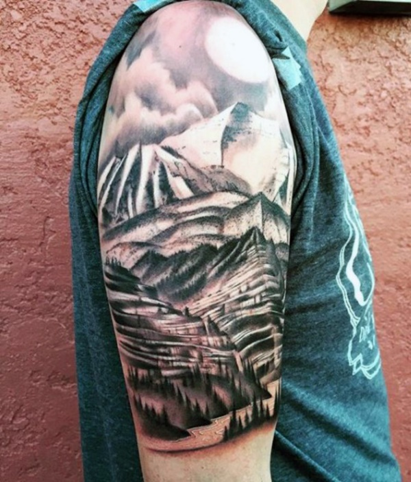 Nature Tattoos Designs and Ideas71